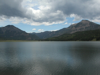 Williams Creek Reservoir Colorado