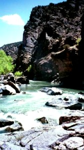 Gunnison RIver fishing in Colorado