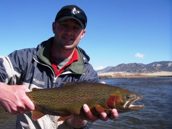 Colorado fishing network spring fishing for Best fishing spots in colorado