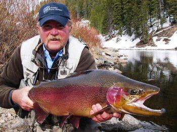 Colorado fishing network spring fishing for Blue river fishing report