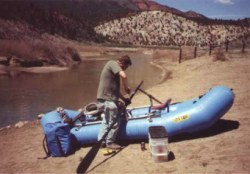 raft ready for Colorado River