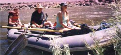 Colorado River floaters
