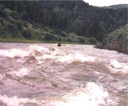 Big water on Colorado River