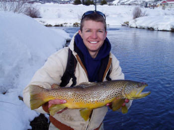 Fishing report stagecoach reservoir lodging for Yampa river fishing report